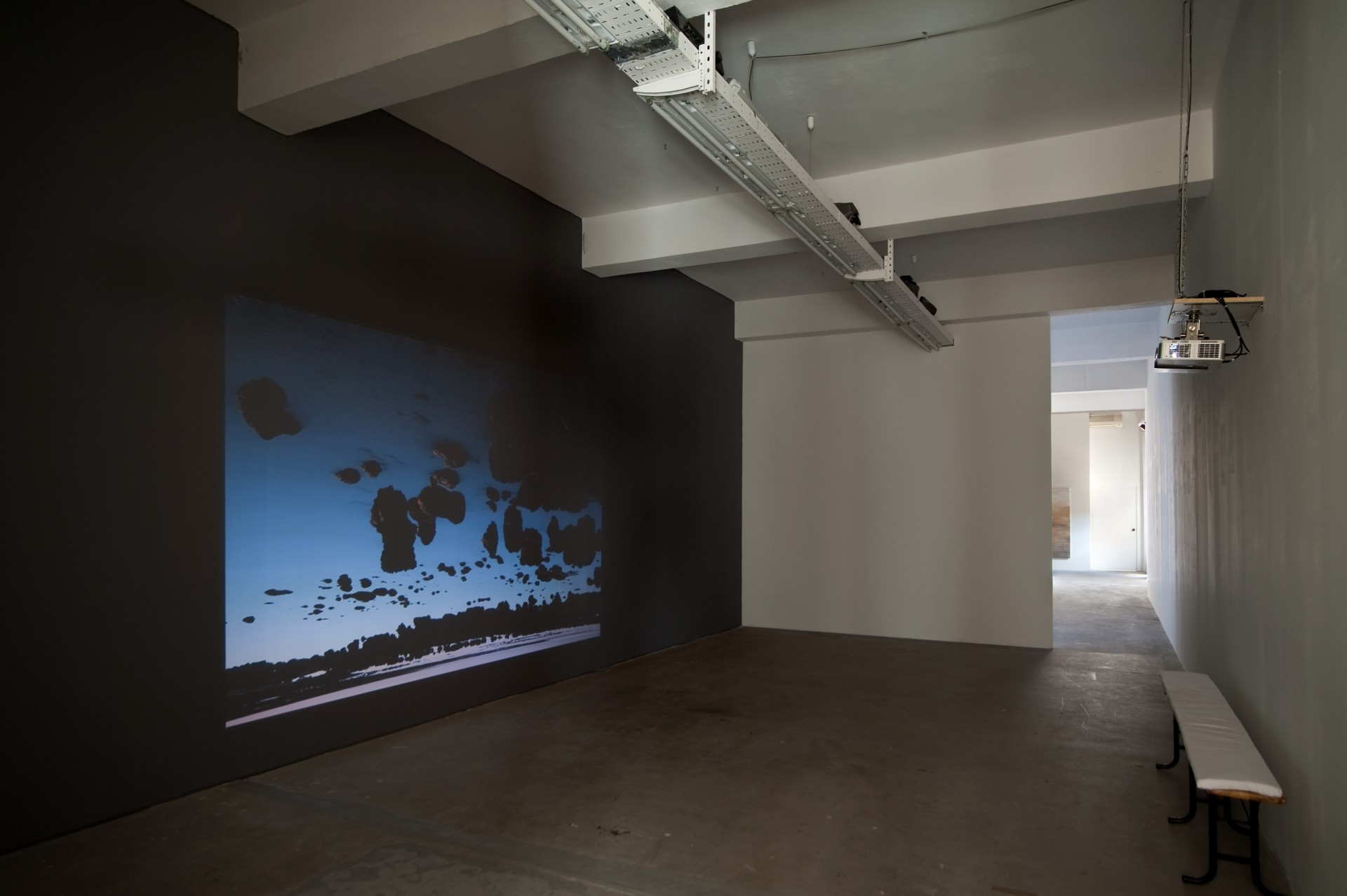 Thiago Rocha Pitta, <i>Prima dell'alba</i>, 2016, 12′ video still, installation view. Courtesy of the artist and Gluck50. Ph. Raph Meazza