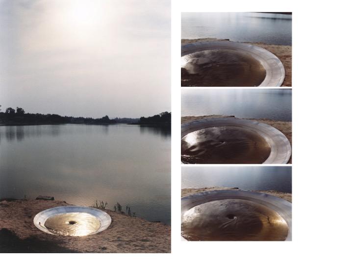 Thiago Rocha Pitta, <i>Fontana</i>, 2003, Inverted fountain – lake on bowl, variable dimensions